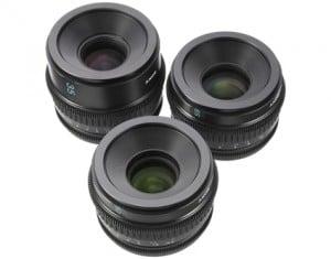 Optiken der Sony F3