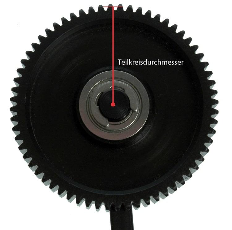 Teilkreisdurchmesser