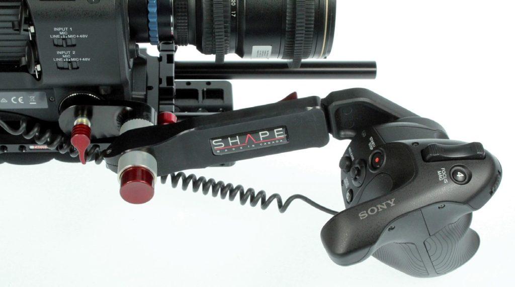 ShapeFS7-Handgriff mit Druckknopf-Winkelverstellung