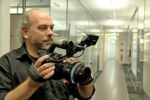 Ulrich Mors mit Sony PXW-FS5