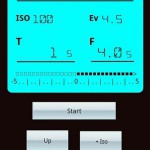 Screenshot der App Digital Light Meter Pro