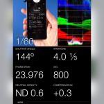 Screenshot der App LUXI