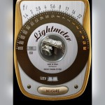 Screenshot der App MyLightMeter