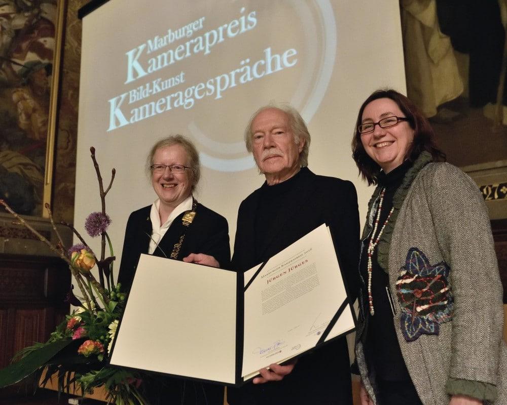 Jürgen Jürges und der Marburger Kamerapreis