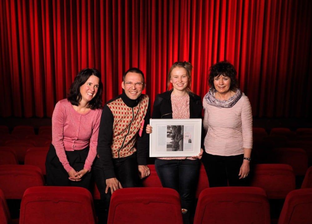 Nonfiktionale 2016 Jury mit Preisträgerin Agata Wozniak