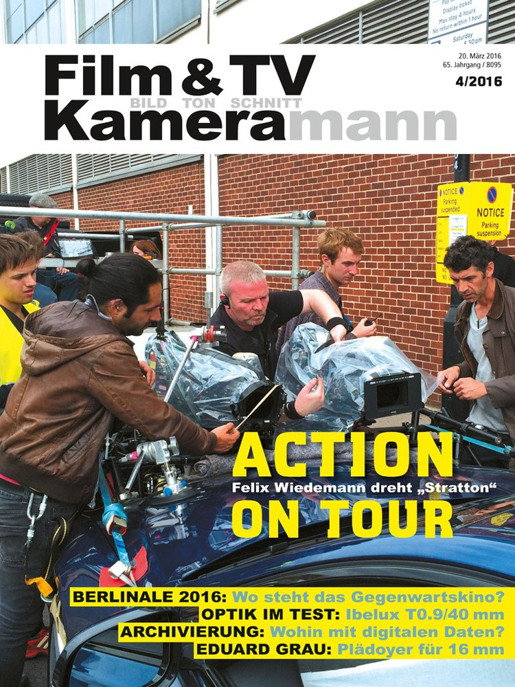 Produkt: Film & TV Kameramann Digital 04/2016