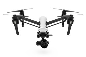 Die Kameradrohne DJI Inspire RAW mit der Zenmuse X5R