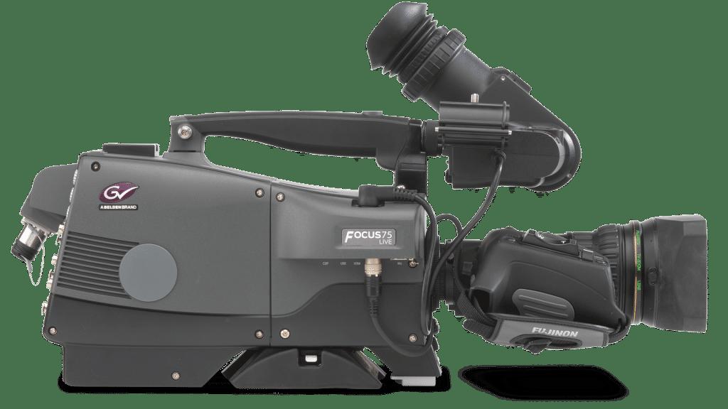 Die Grass Valley Focus 75 Live Camera