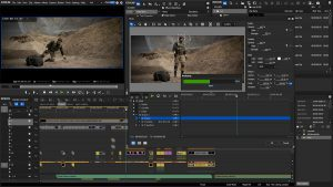Motion Tracking in Edius 8.2 Screenshot
