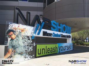Der Eingang zur Fachmesse NAB 2016