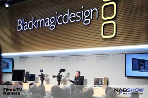 Blackmagic Messestand