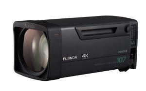 Das 4K-Broadcast-Objektiv Fujinon UA107x8.4