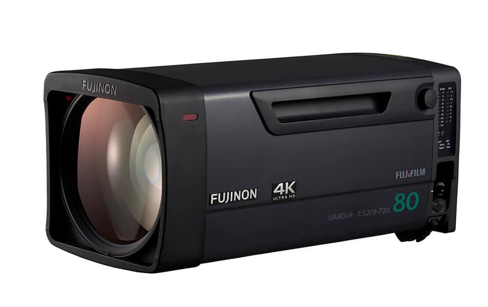 Das 4K-Broadcast-Objektiv Fujinon UA80x9 1.2x EXT
