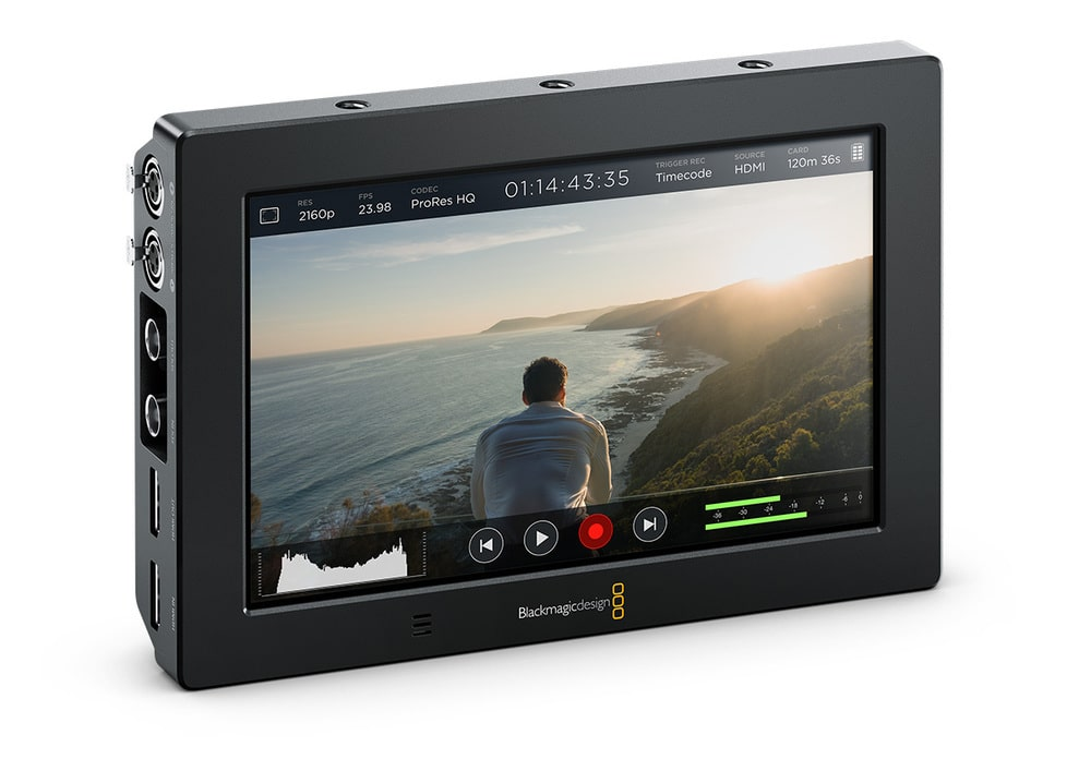 Blackmagic Video Assist 4K Monitor-Recorder
