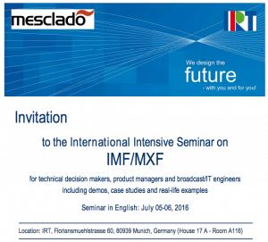 Screenshot IMF-Seminar