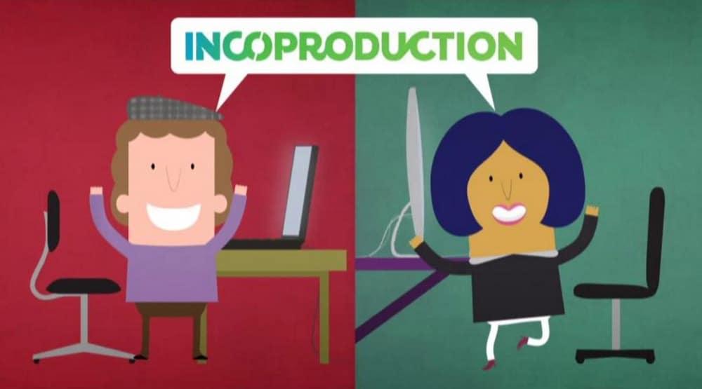 Still aus dem Incoproduction-Infofilm