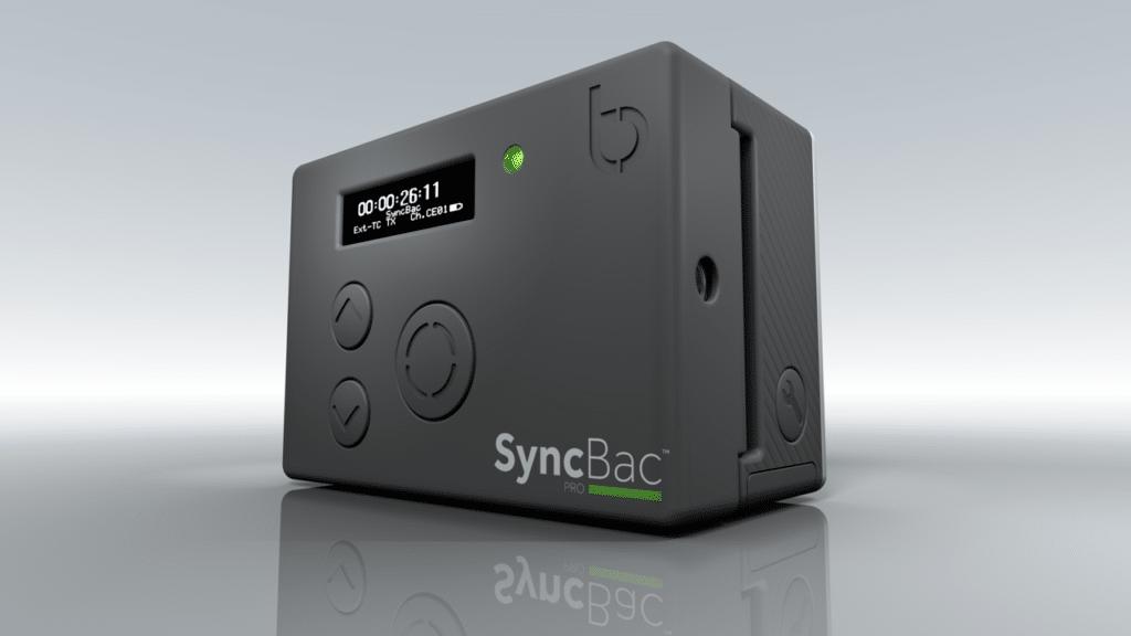 SyncBac Pro an einer GoPro