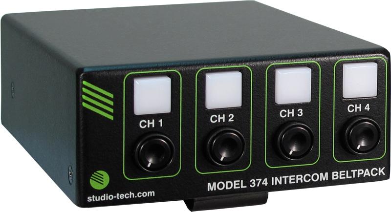 Studio Technologies Model 374 Intercom Beltpack