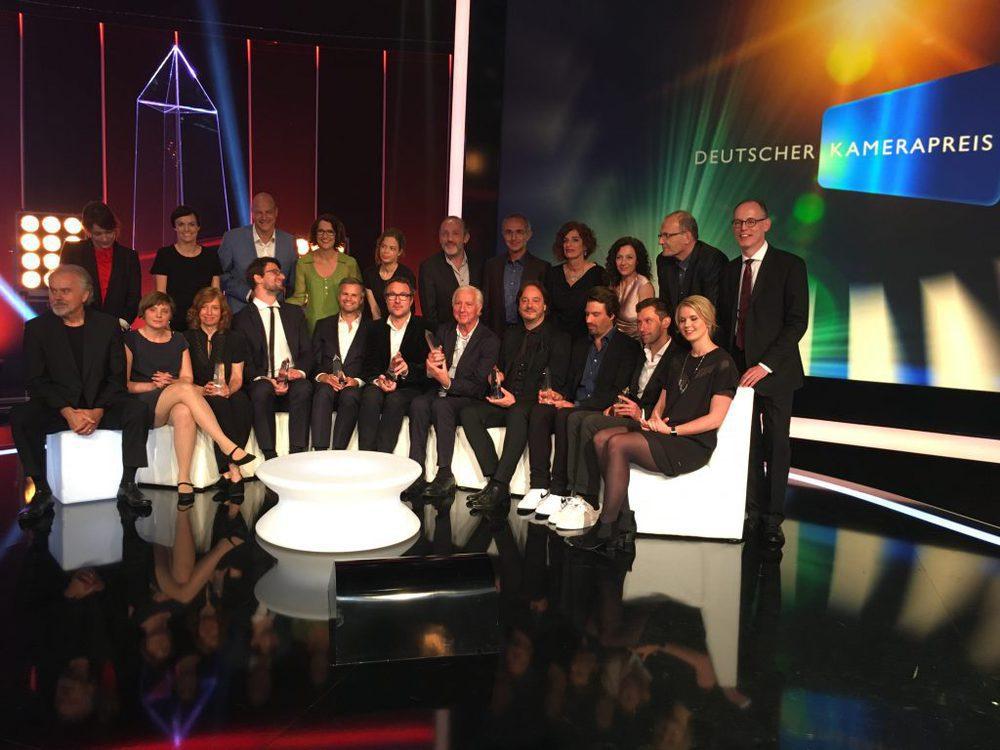 Die Preisträger des 26. Deutschen Kamerapreises.