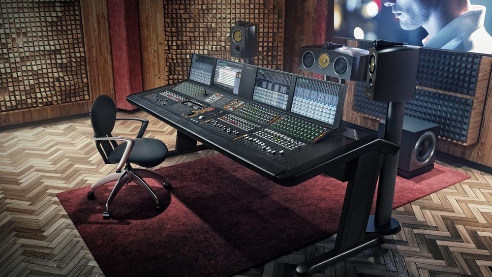 Eine Audio Suite mit Fairlight