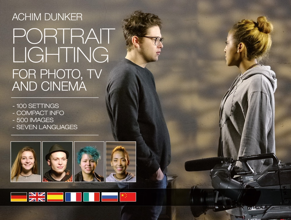 """Achim Dunkers """"Portrait Lighting for Photo, TV and Cinema"""""""