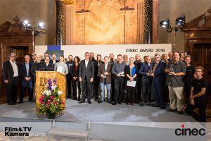 Die Preisträger der CinecAwards 2016