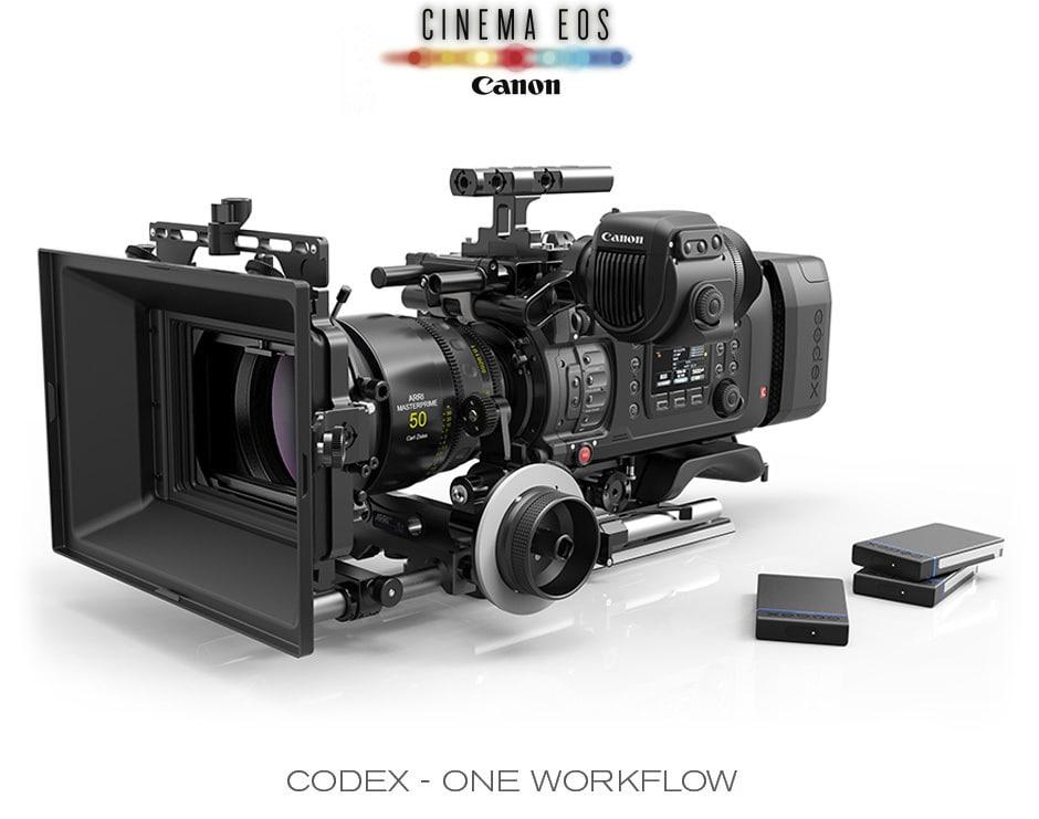 Canon EOS C700 mit Codex-Laufwerk