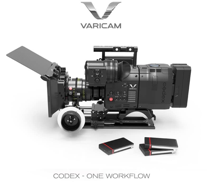 Panasonic Varicam mit Codex-Laufwerk