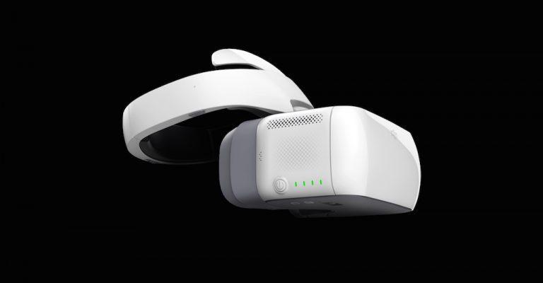 Die Mavic Pro kann mit den neuen DJI Goggles Brillen verbunden werden