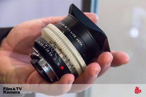 Das Leica 28/1,4 Summilux M auf der IBC 2016.