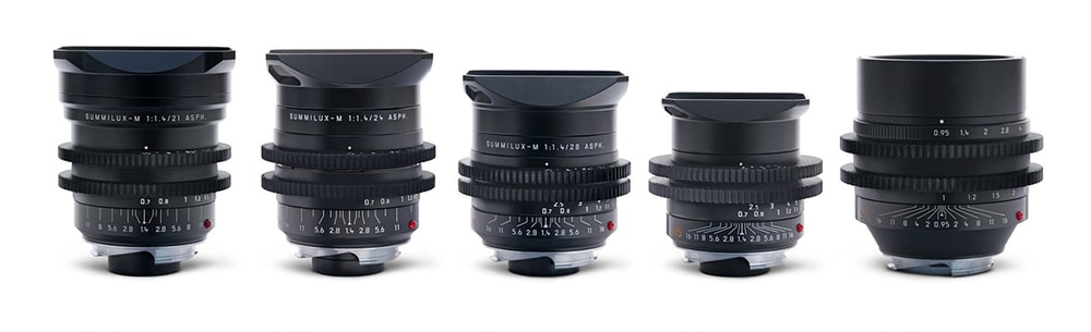 Die Leica M 0.8 Objektive