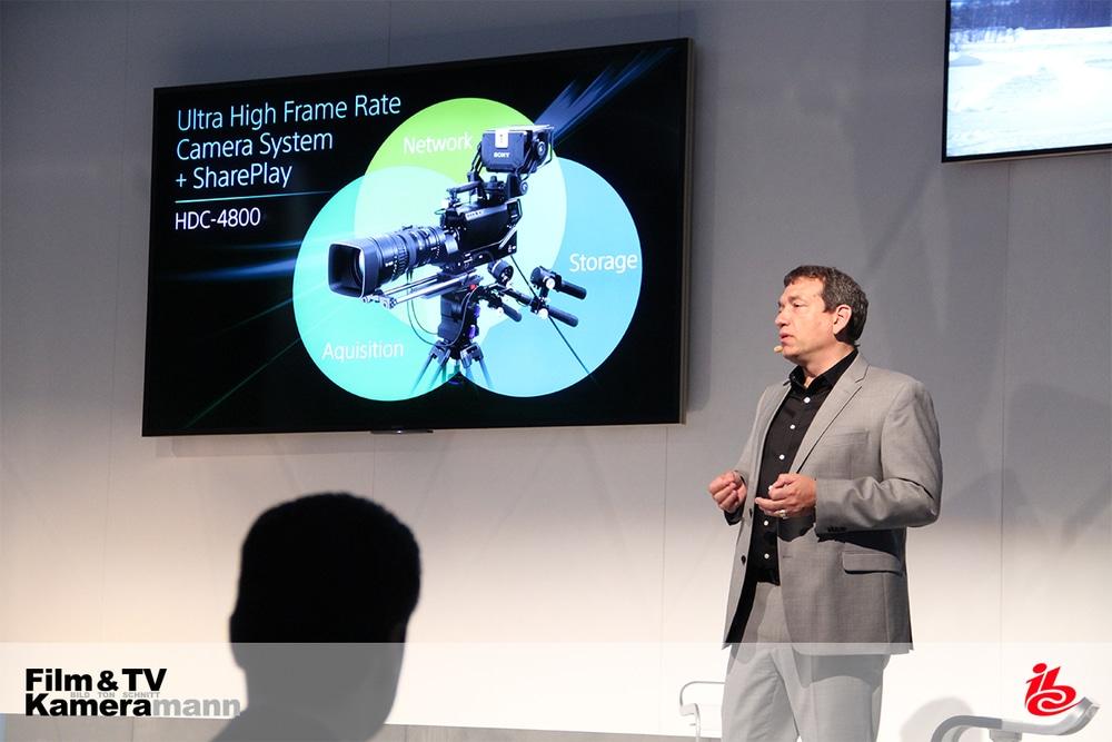 Michael Harrit, Marketingleiter für AV & Media Solutions, auf der IBC