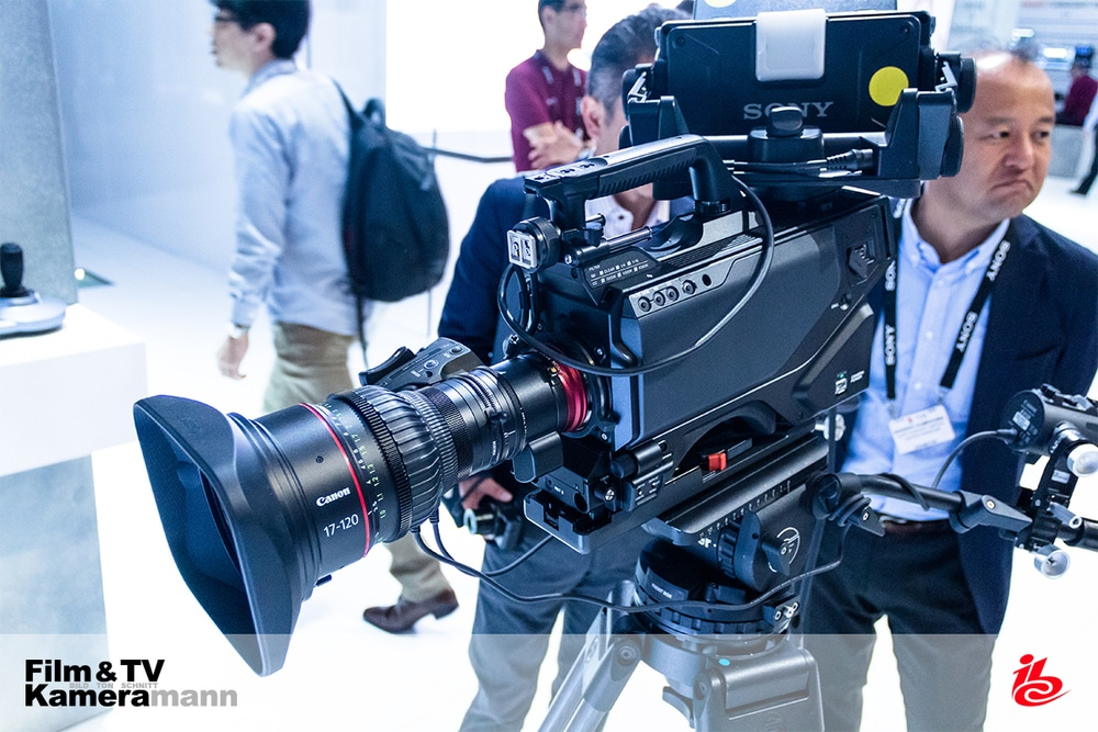 Sony HDC 4800 mit Canon-Objektiv