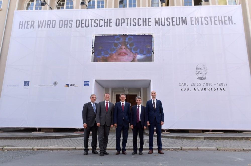Deutsches Optisches Museum Jena im Bau