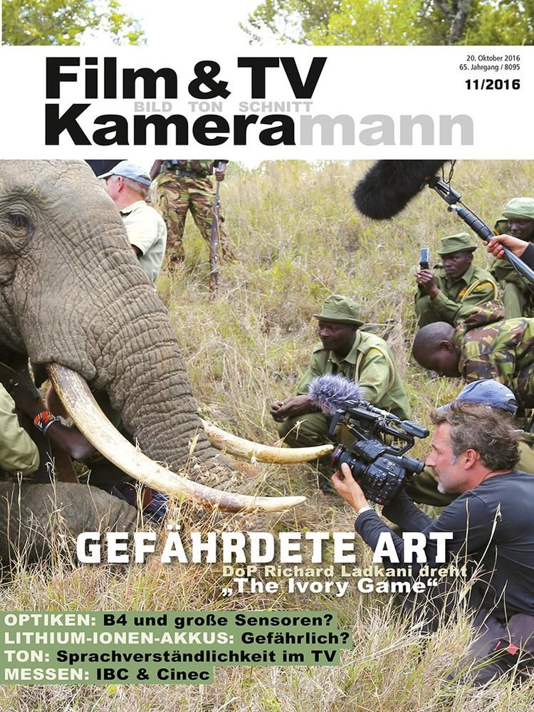 Produkt: Film & TV Kameramann Digital 11/2016