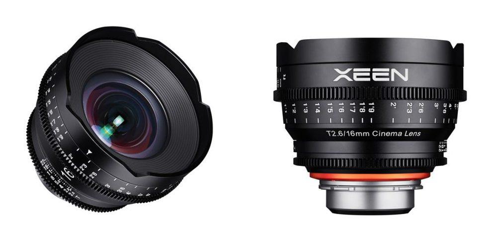 Das neue Xeen 16 mm T2.6 Cine-Objektiv