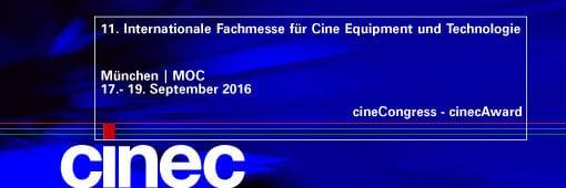 Banner der Cinec 2016