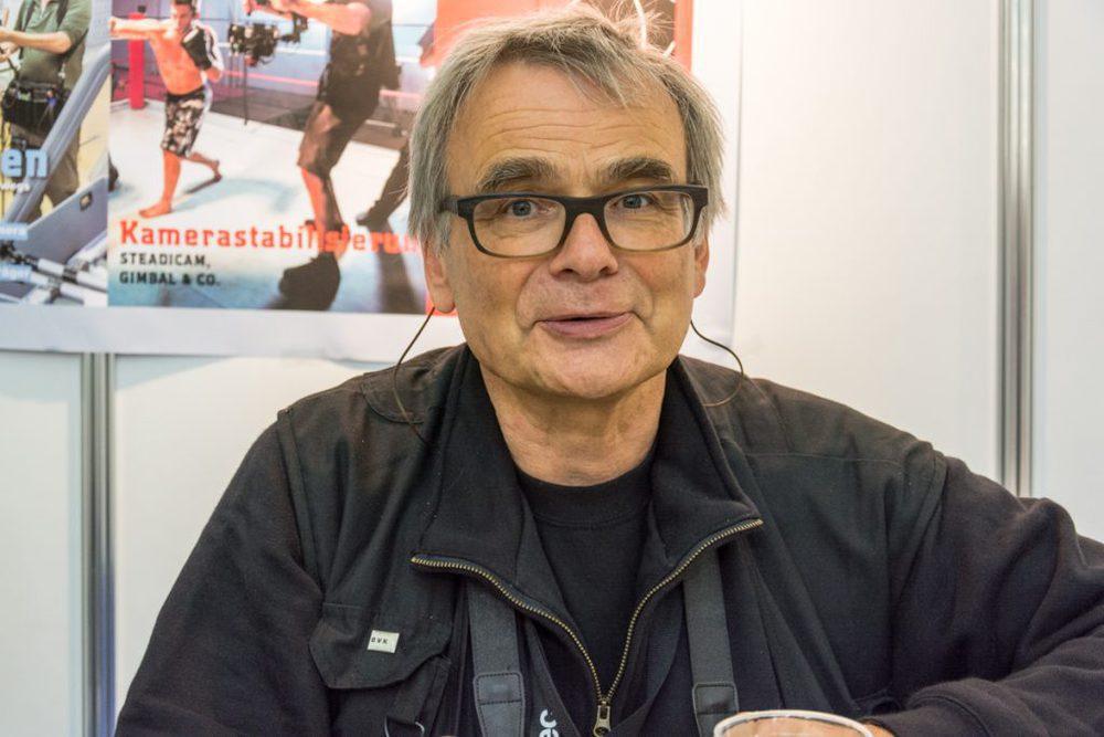 Hans Albrecht Lusznat auf der Cinec 2016