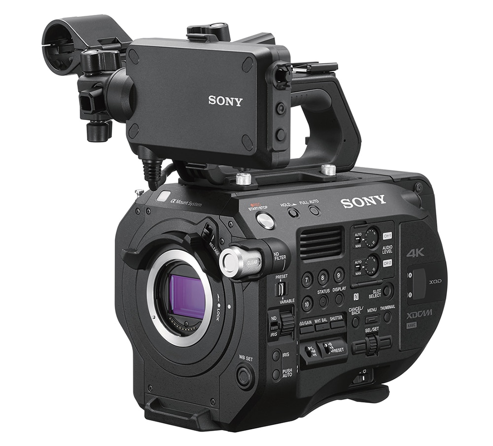 Die neue Sony PWX-FS7 II