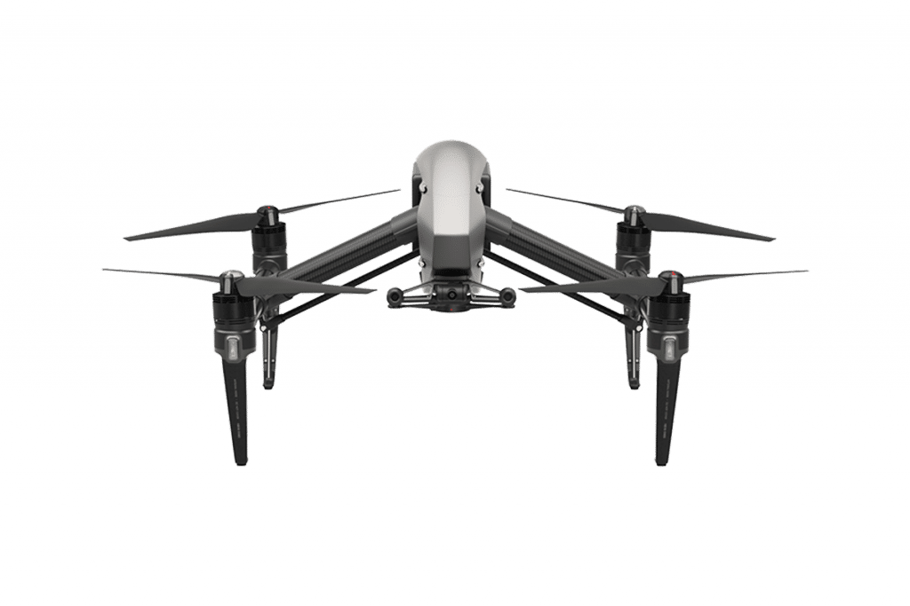 Die neue DJI inspire 2 Drohne