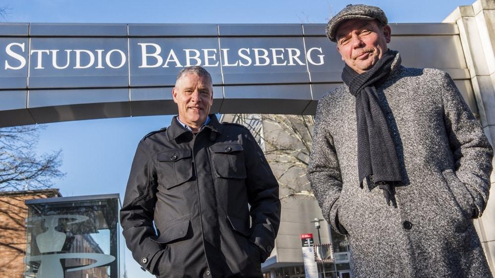 Christoph Fisser und Tom Zickler (r.) sind die Geschäftsführer der neuen Traumfabrik Babelsberg.