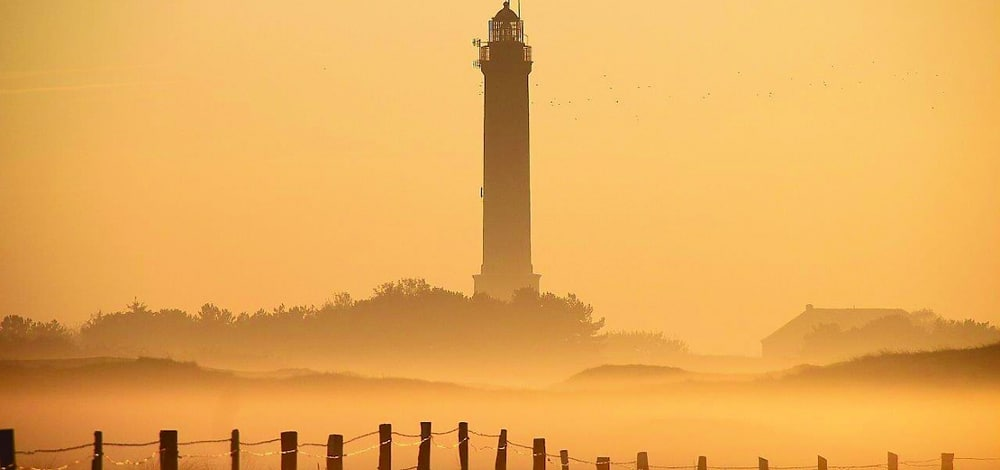 Der Leuchtturm Norderney ist Symbol für den Integrationspreis des Filmfests Emden-Norderney