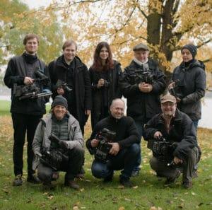 Das Test-Team der AG DOK.