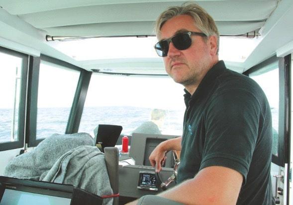 Skipper und Cineflight-Inhaber Patrick Nüske.