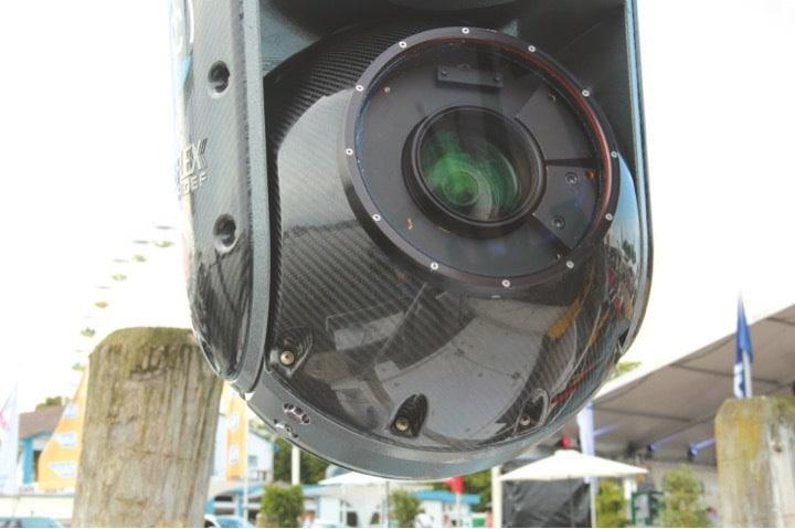 Im Cineflex-System liegt die Sony HDC-1500 mit 7,6 mm- 175 mm Fujinon-Optik.