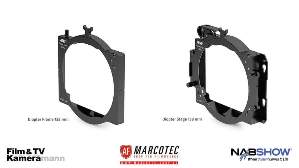 NAB 2017: Die ARRI 138 Millimeter Diopter Frame und Stage