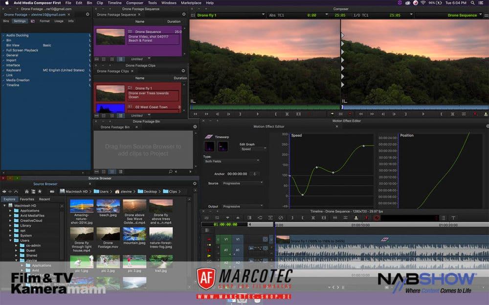NAB 2017: Avid Media Composer First