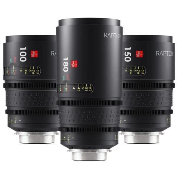Die Raptor Macro FF Optiken von IB/E Optics sind auf digitale Filmkameras mit großen Sensoren für den professionellen Einsatz optimiert.