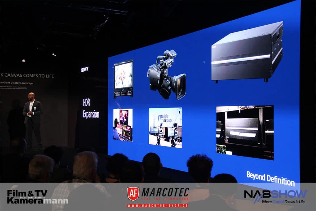 NAB 2017: Sony setzt auf HDR