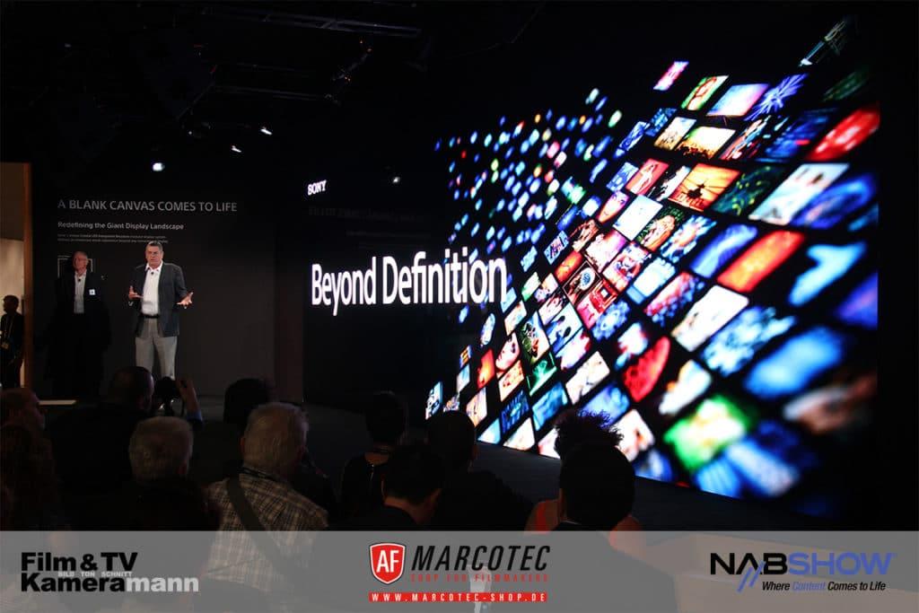 NAB 2017: In Las Vegas geht es bei Sony auch um HDR